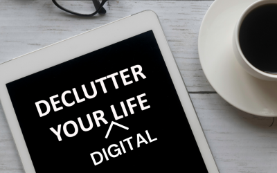 Digital Declutter – How To Organize Your Digital Life